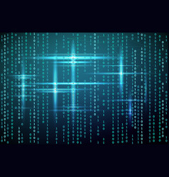 Abstract matrix background vector