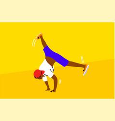Dance hip hop sport competition performance vector