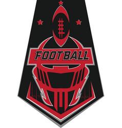 Football tshirt design vector