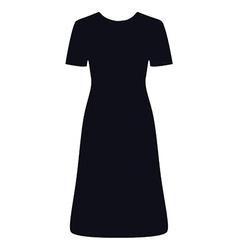 Litttle black dress vector image