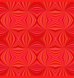 Red seamless abstract psychedelic curved ray vector