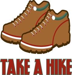 Take A Hike vector