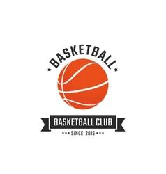 Basketball club vector image