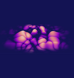 3d echo audio wavefrom spectrum music vector