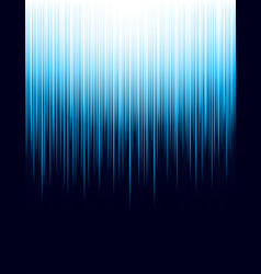 background with blue striped lines technology vector image