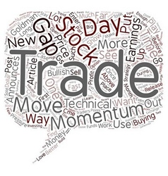 Better Trades Momentum Part text background vector image