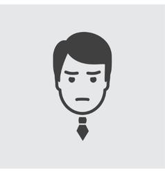 Casino boy icon vector image