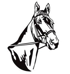 Decorative horse 1 vector