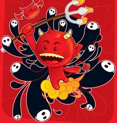 Devils son vector