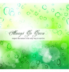 environmental cover vector image