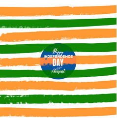 festive independence day in india celebration vector image