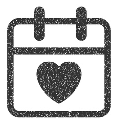 Love Day Grainy Texture Icon vector