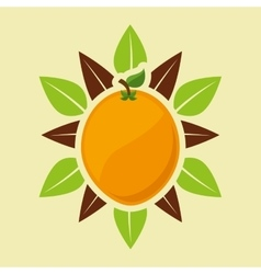 vegetarian product healthy food vector image