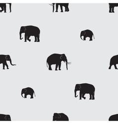 shadow elephants seamless pattern eps10 vector image vector image