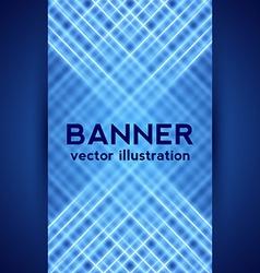 Dark Blue Digital Banner vector image vector image