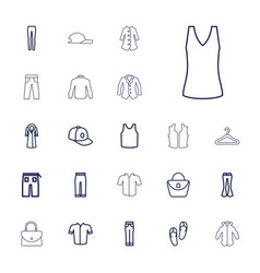 22 casual icons vector