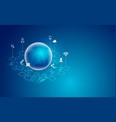 Global technology vector