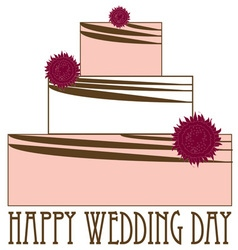 Happy Wedding Day vector