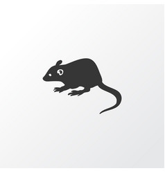 Mouse icon symbol premium quality isolated rat vector
