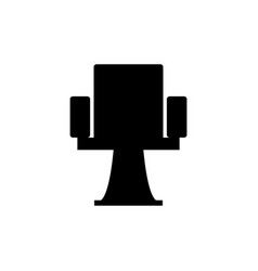 theater chair icon vector image