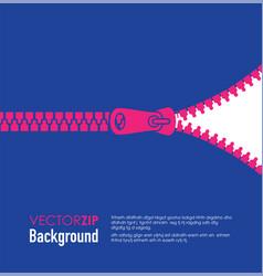 zip background vector image