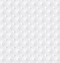 White geometric background vector image vector image