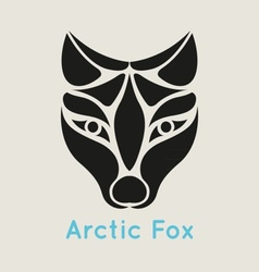 Arctic Fox Icon vector image