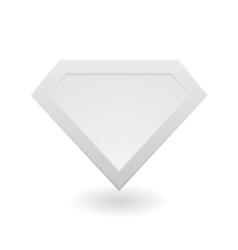 Super hero logo vector image vector image
