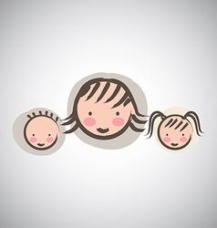 family design vector image