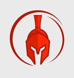 Red warrior vector