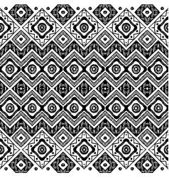abstract zigzag pattern for cover design tribal vector image