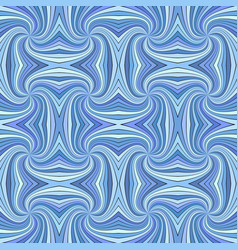 blue seamless psychedelic geometrcial spiral vector image