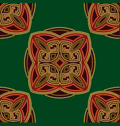 Colourful ethnic seamless pattern background vector