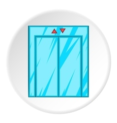 Elevator icon cartoon style vector image