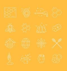 Honey Elements vector