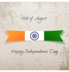 india independence day holiday tag vector image
