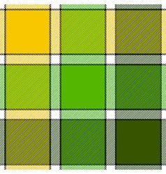 Lime color check plaid seamless pattern vector