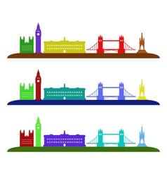 London skyline vector