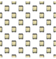 Memory card pattern vector