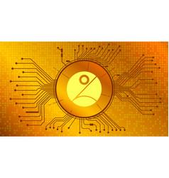 Pnetwork pnt cryptocurrency token symbol defi vector