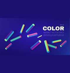 retro background neon vibrant color vector image