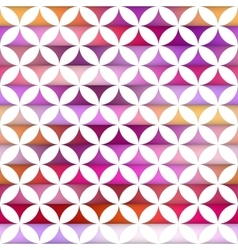 Seamless colorful stripes gradient stars vector