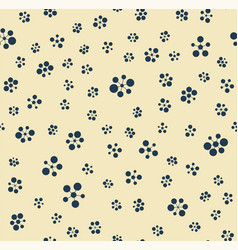 seamless pattern geometric circle vector image