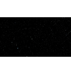 stars Background with Milky Way vector image