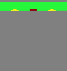 Switchers icon on neon green background vector