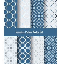 abstract blue and white dotted lines vector image vector image