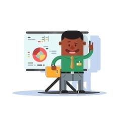 Office worker employee vector image vector image