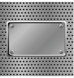 steel background vector image