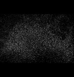 grain abstract texture isolated on black vector image