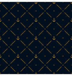 Marine seamless pattern background vector